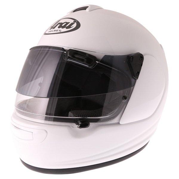 Arai Chaser-V Pro Diamond White Full Face Motorcycle Helmet Front Left