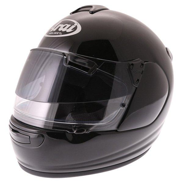 Arai Chaser-V Pro Diamond Black Full Face Motorcycle Helmet Front Left