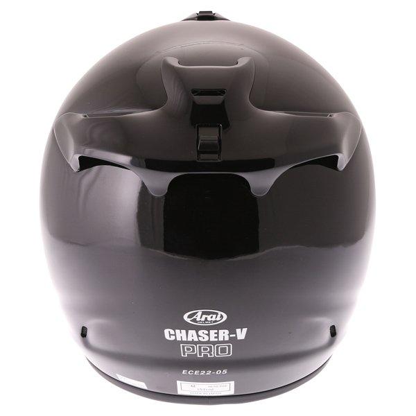 Arai Chaser-V Pro Diamond Black Full Face Motorcycle Helmet Back