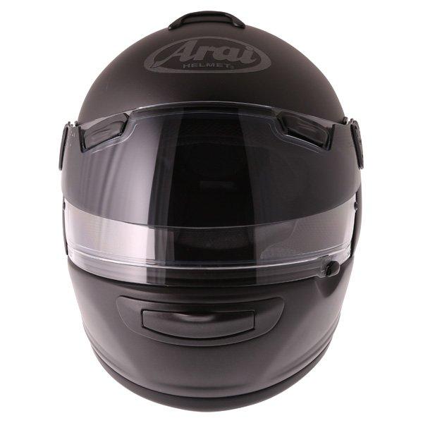 Arai Chaser-V Pro Frost Black Full Face Motorcycle Helmet Front