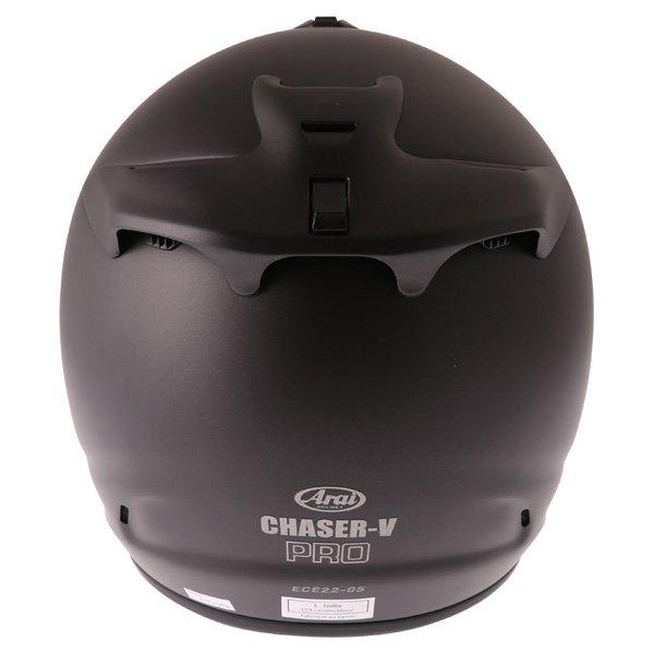 Arai Chaser-V Pro Frost Black Full Face Motorcycle Helmet Back