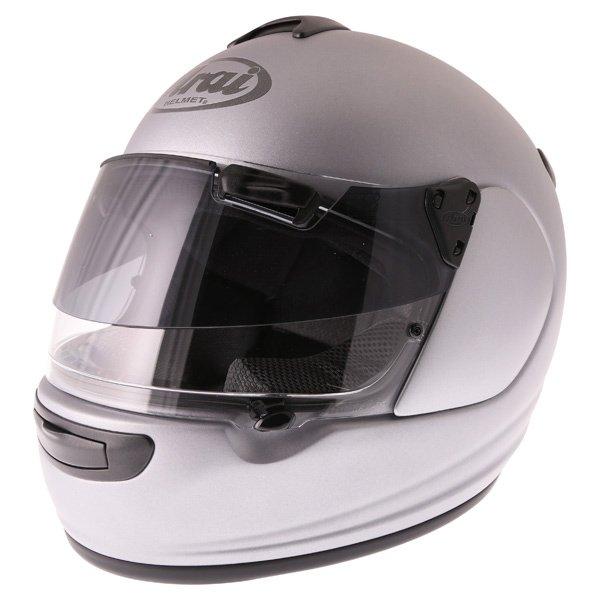 Arai Chaser-V Pro Tour Frost Grey Full Face Motorcycle Helmet Front Left