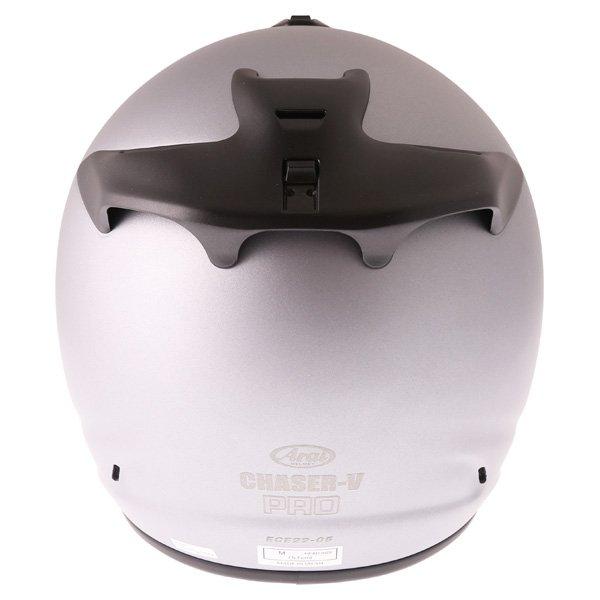Arai Chaser-V Pro Tour Frost Grey Full Face Motorcycle Helmet Back