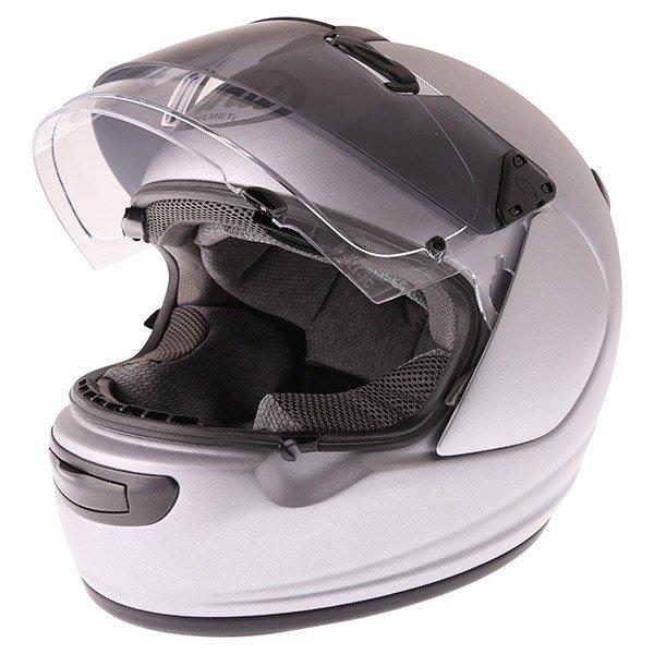 Arai Chaser-V Pro Tour Frost Grey Full Face Motorcycle Helmet Open