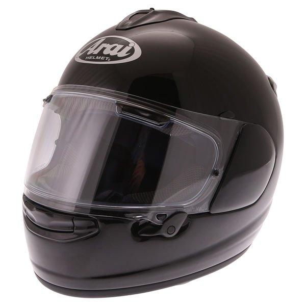 Arai Chaser-X Diamond Black Full Face Motorcycle Helmet Front Left