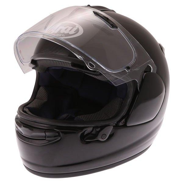 Arai Chaser-X Diamond Black Full Face Motorcycle Helmet Open Visor