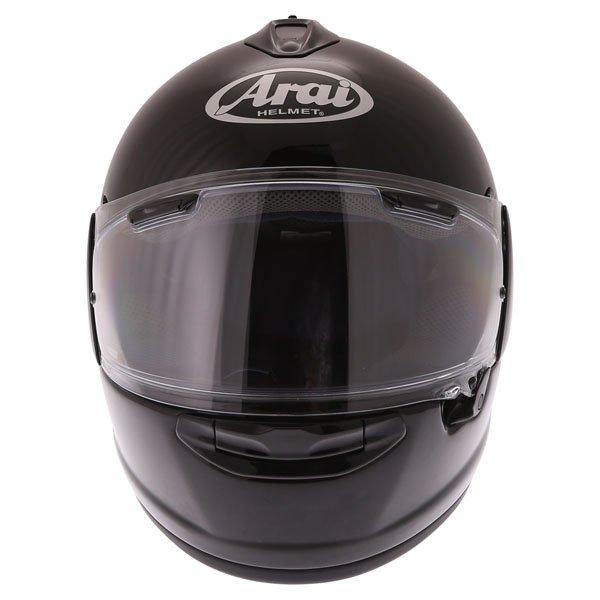 Arai Chaser-X Diamond Black Full Face Motorcycle Helmet Front