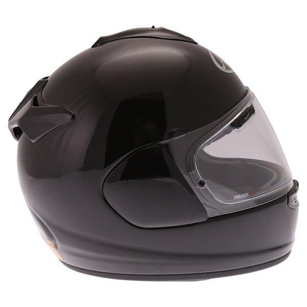 Arai Chaser-X Diamond Black Full Face Motorcycle Helmet Right Side
