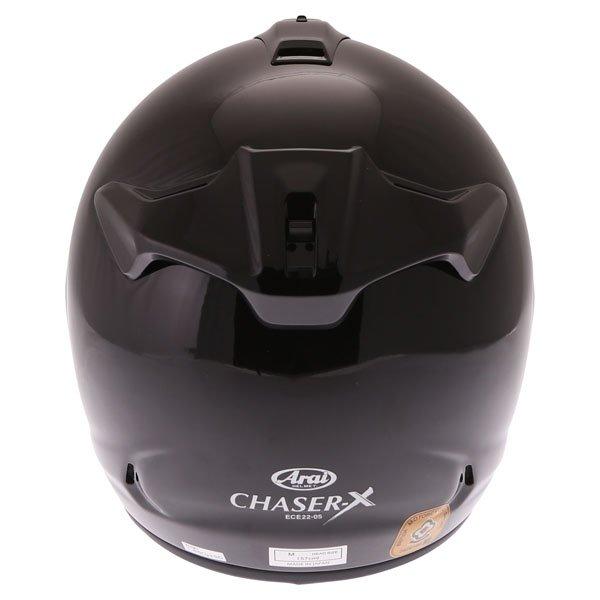 Arai Chaser-X Diamond Black Full Face Motorcycle Helmet Back