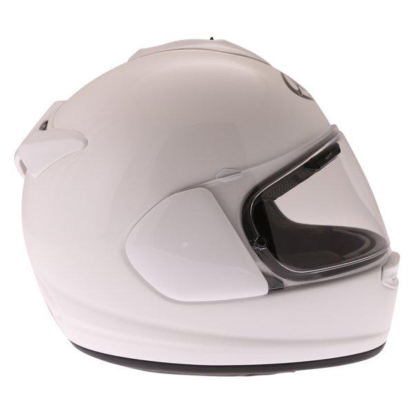 Arai Chaser-X Diamond White Full Face Motorcycle Helmet Right Side