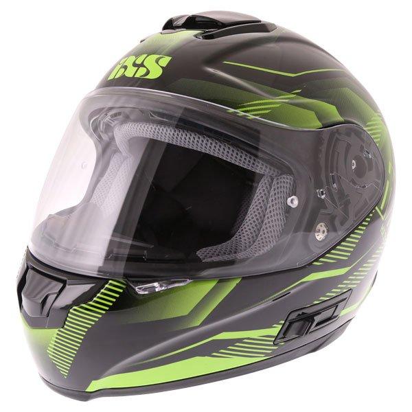 HX 215 Cristal Helmet Black Green