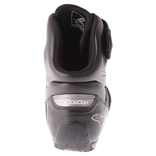 Alpinestars Faster-2 Black Gun Metal Waterproof motorcycle Shoe Heel
