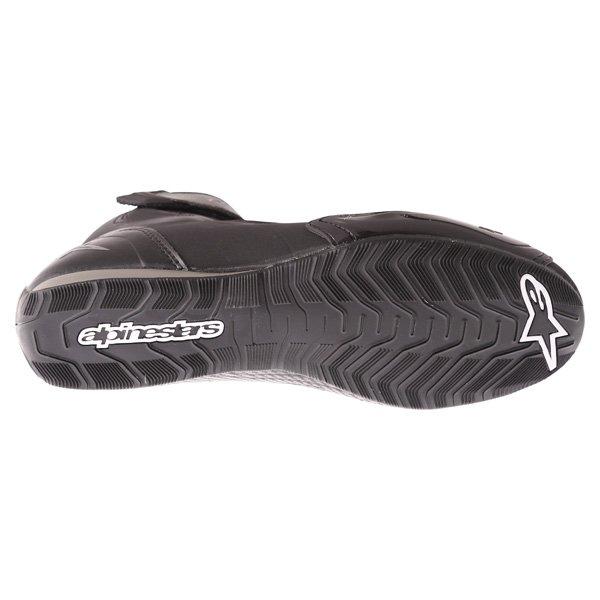 Alpinestars Faster-2 Black Gun Metal Waterproof motorcycle Shoe Sole