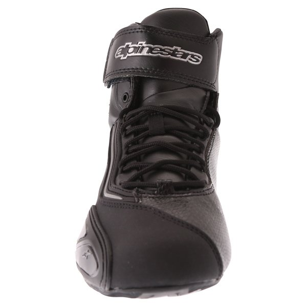 Alpinestars Stella Faster 2 Black Gun Waterproof Motorcycle Shoes Front