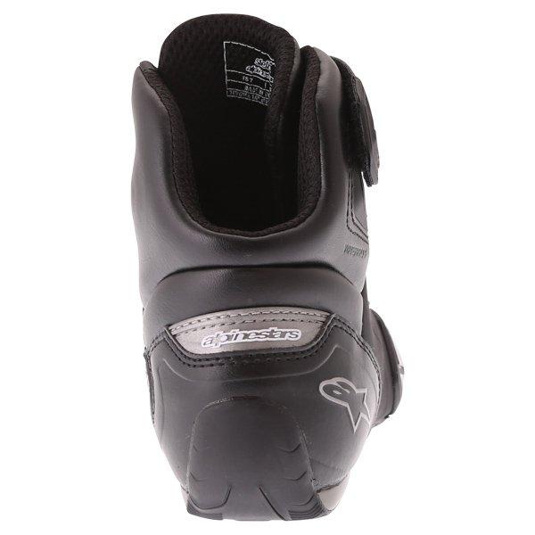 Alpinestars Stella Faster 2 Black Gun Waterproof Motorcycle Shoes Heel