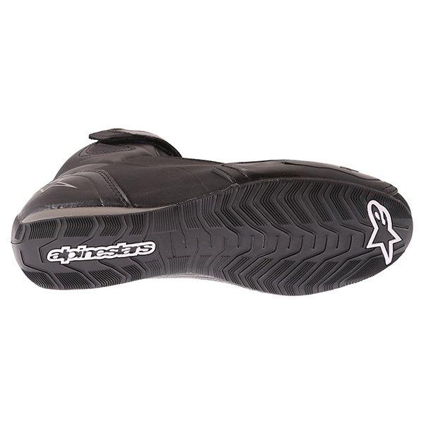 Alpinestars Stella Faster 2 Black Gun Waterproof Motorcycle Shoes Sole