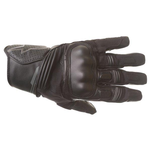 Alpinestars Booster Black Anthracite Motorcycle Gloves Back