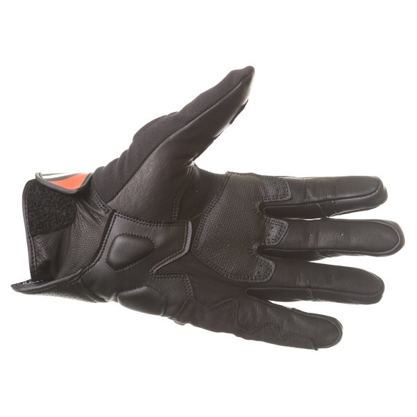 Alpinestars Booster Black Red Motorcycle Glove Palm