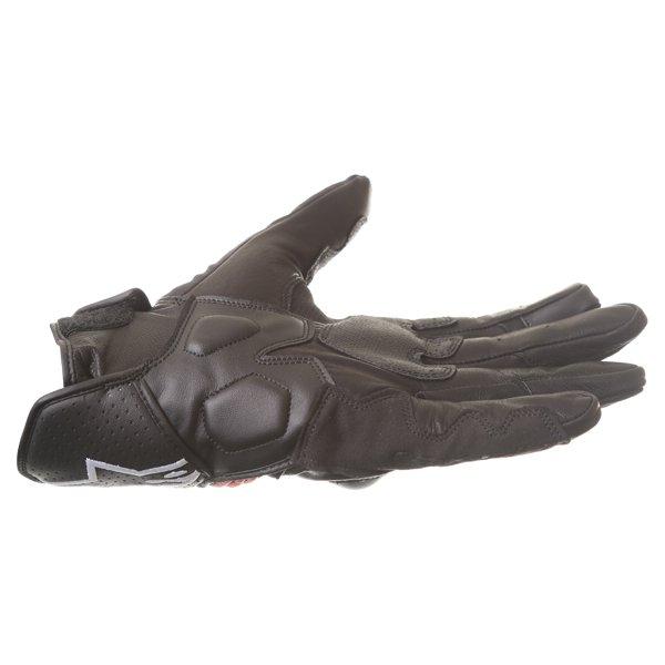 Alpinestars Booster Black Red Motorcycle Glove Little finger side