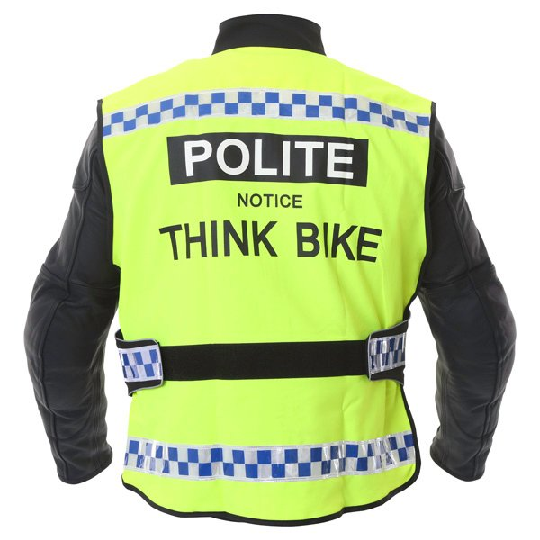 Think Bike Waistcoat Blue Hi-Viz Clothing