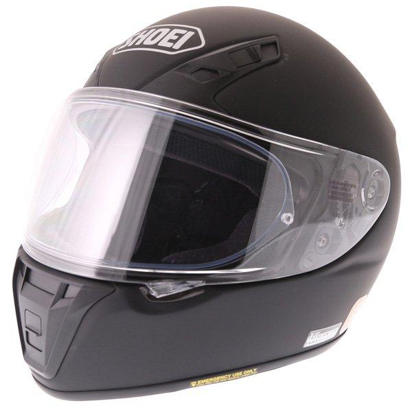 RYD Helmet Matt Black Shoei Helmets