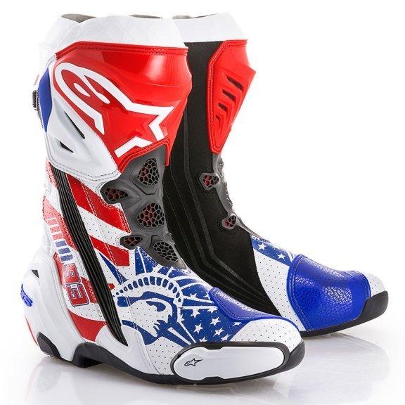 Alpinestars Supertech R Marquez Motorcycle Boots Pair