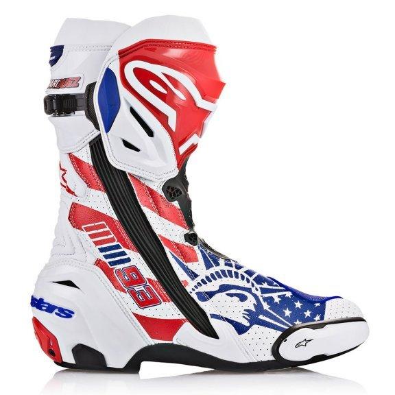 Alpinestars Supertech R Marquez Motorcycle Boots Outside leg