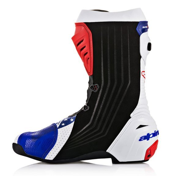 Alpinestars Supertech R Marquez Motorcycle Boots Inside leg