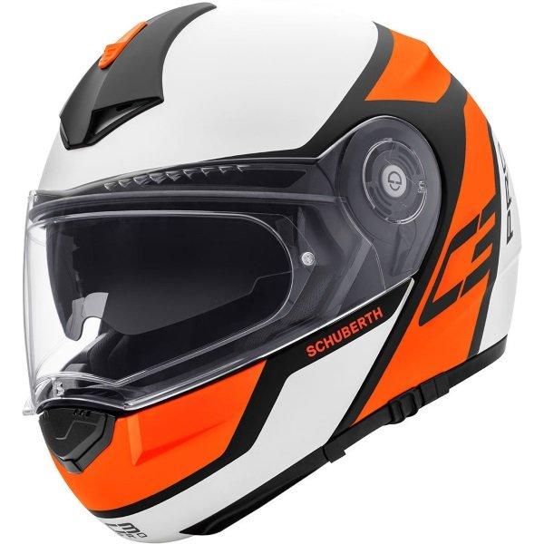 C3 Pro Echo Helmet Orange Schuberth Helmets