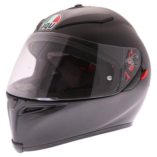 AGV K5-S Matt Black Full Face Motorcycle Helmet Front Left