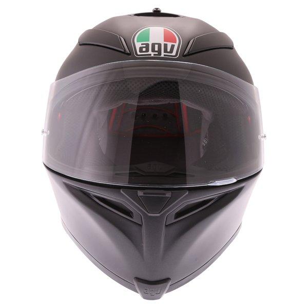 AGV K5-S Matt Black Full Face Motorcycle Helmet Front