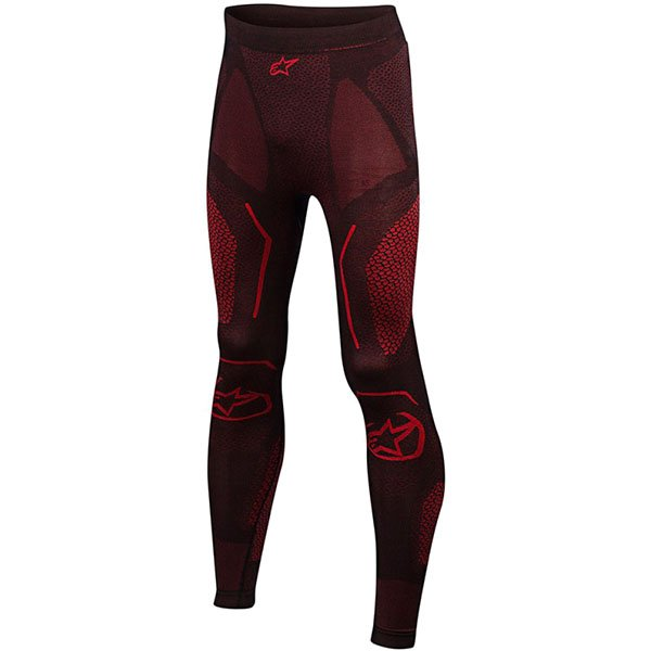 Alpinestars Ride Tech Bottom Summer Black Red Size: M-L