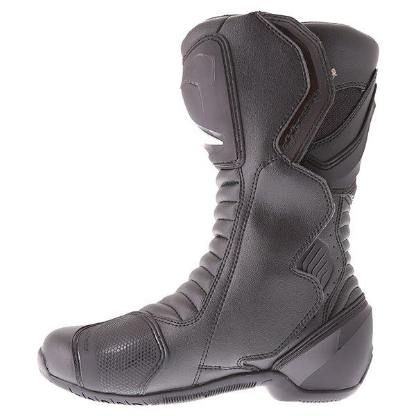 Alpinestars SMX 6 V2 Goretex Black Waterproof Motorcycle Boots Inside leg