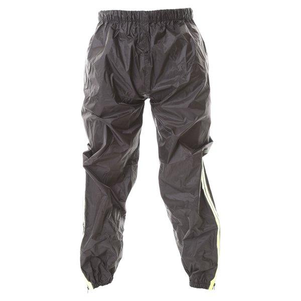 Frank Thomas Dallas Ladies Black Yellow Waterproof Over Pants Front