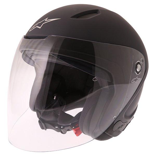 Novus Helmet Matt Black Motorcycle Helmets
