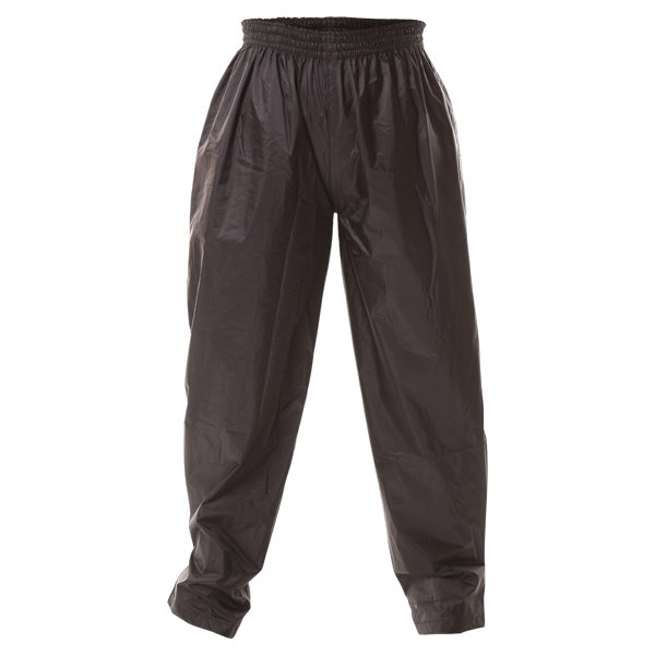 Frank Thomas Ladies Black Waterproof Over Pants Front