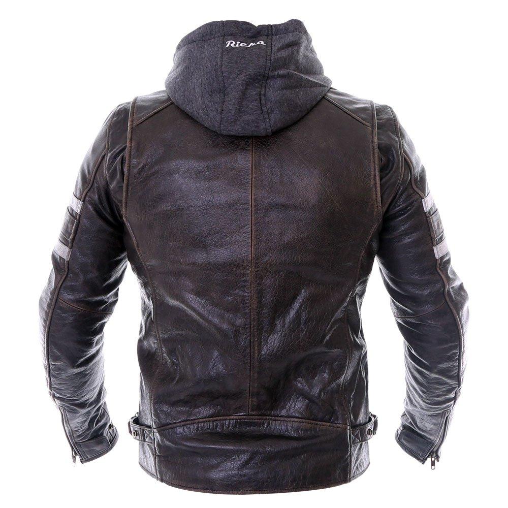 Richa Toulon Jacket Black Size: Mens UK - 46