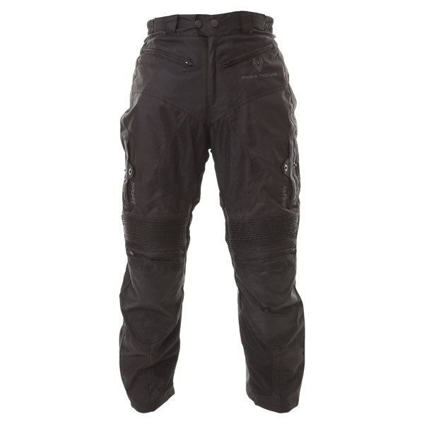 Mesh Pants Black Trousers