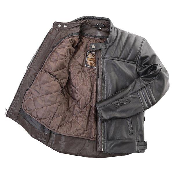 BKS Oakmere Jacket Black Inside