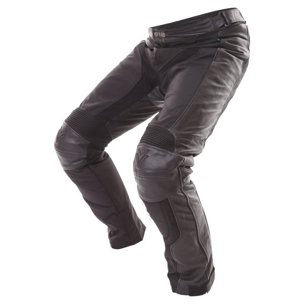 Frank Thomas Crossover L-Tex Mens Black Waterproof Textile Motorcycle Jeans Riding position