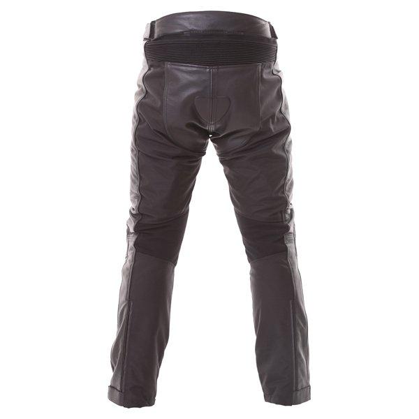 Frank Thomas Crossover L-Tex Mens Black Waterproof Textile Motorcycle Jeans Rear