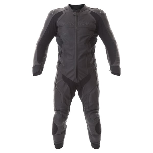 Stealth 1pc Suit Black Leather Motorcycle Suits