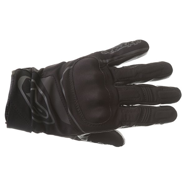 Alpinestars Syncro DS Black Motorcycle Gloves Back