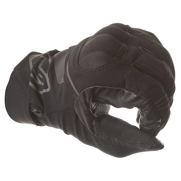 Alpinestars Syncro DS Black Motorcycle Gloves Knuckle