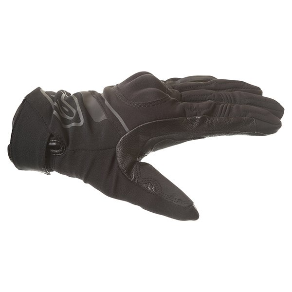Alpinestars Syncro DS Black Motorcycle Gloves Thumb side
