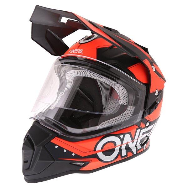 Sierra II Slingshot Helmet Orange Oneal