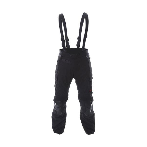 Alpinestars Andes V2 Drystar Mens Black Waterproof Textile Motorcycle Pants Front