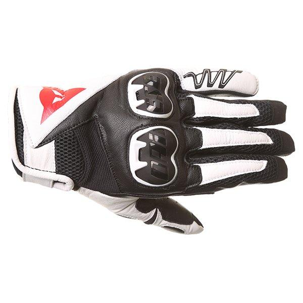 MIG C2 Gloves Black White Black Dainese