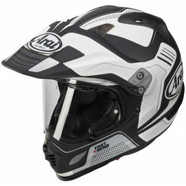 Arai Tour-X 4 Vision White Adventure Motorcycle Helmet Front Left