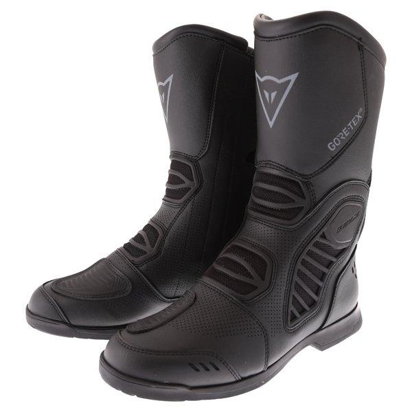 Dainese Solarys Goretex Black Motorcycle Boots Pair
